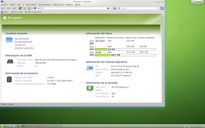 Konqueror en openSUSE