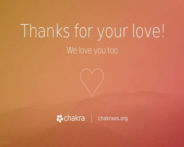Chakra sigue viva